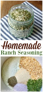 See how easy it is to make your own Homemade Ranch Seasoning on gracefullittlehoneybee.com