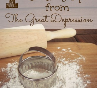 Money Saving Cooking Tips from The Great Depression on gracefullittlehoneybee.com