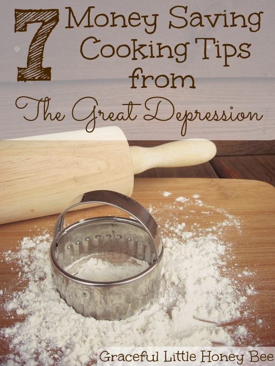Check out these money saving cooking tips from The Great Depression.