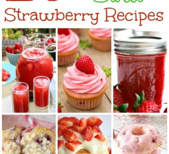 20 Deliciously Sweet Strawberry Recipes on gracefullittlehoneybee.com