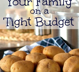 How to Feed Your Family on a Tight Budget on gracefullittlehoneybee.com