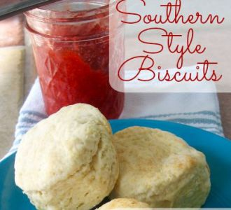 Fluffy Southern Style Biscuits on gracefullittlehoneybee.com