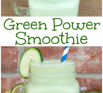 Easy Green Power Smoothie