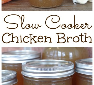 See how easy it is to make delicious, nutrient-rich homemade chicken broth in your slow cooker on gracefullittlehoneybee.com