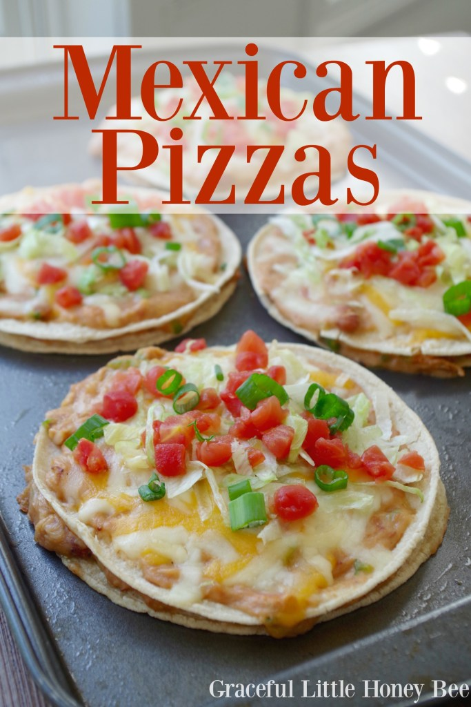 See how to make these delicious Mexican Pizzas for a hearty meal your family is sure to love!