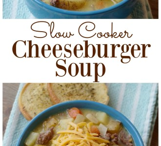 See how to make this rich and creamy Cheeseburger Soup in your slow cooker on gracefullittlehoneybee.com