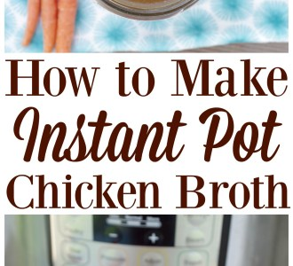 How to Make Instant Pot Chicken Broth for (almost) FREE