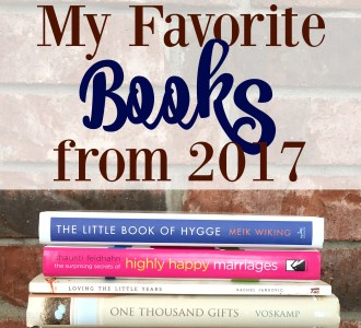 My Favorite Books from 2017