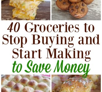 40 Groceries to Stop Buying and Start Making to Save Money