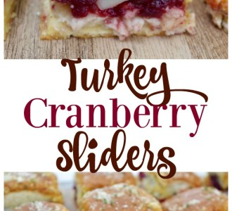 Use up your favorite Thanksgiving leftovers with this delicous Turkey Cranberry Sliders recipe on gracefullittlehoneybee.com