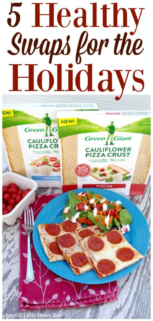 Check out this list of healthy swaps for the holidays to stay fit and have a Happy New Year! #ad www.ggswapins.com #VeggieSwapIns, #IC