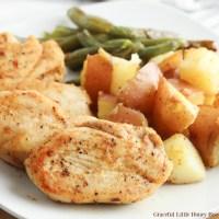 Cajun Chicken Sheet Pan Dinner
