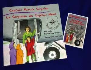 Capt Mama Surprise book and patch