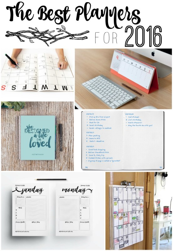 Best planners to help you stay organized!