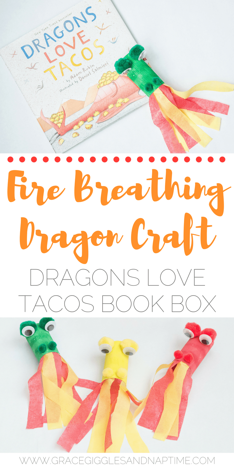 Dragons Love Tacos Book Box