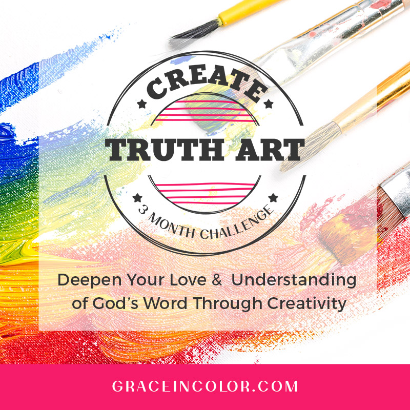 Free Create Truth Art at Grace in Color