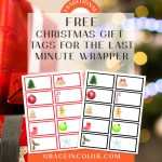 FREE Christmas Gift Tags for the Last Minute Wrapper