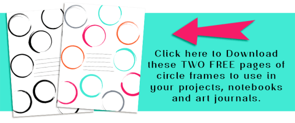 Two Free Circle Frame Pages