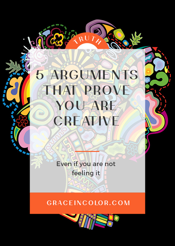5 Arguments That Prove You are Creative