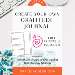 Gratitude Journal: Why you need one and how to create it {VIDEO}
