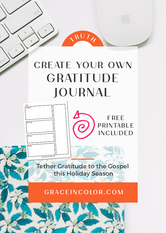 Gratitude Journal Ideas {FREE PRINTABLE}