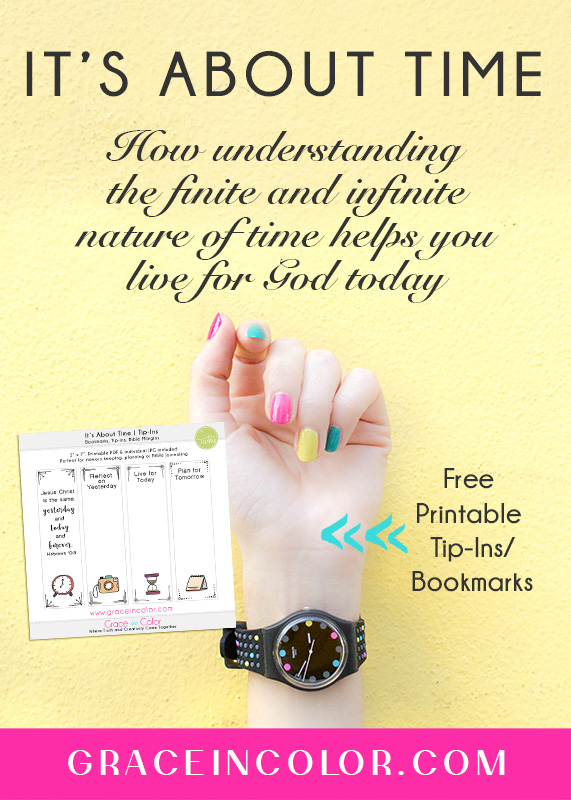 Time and the Gospel. Free Tip-Ins by Grace in Color.