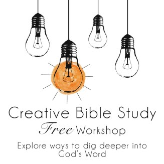 Free Workshop: Creative Bible Study by Grace in Color