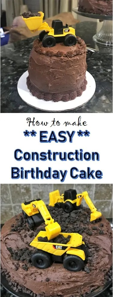 Construction Birthday Cake And Its Easy Too Grace Like Rain Blog