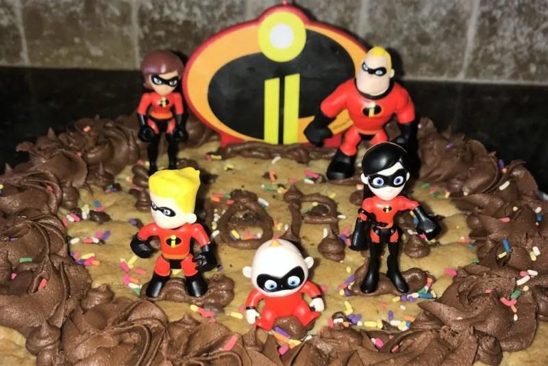 Prime Incredibles 2 Cookie Cake Grace Like Rain Blog Personalised Birthday Cards Cominlily Jamesorg