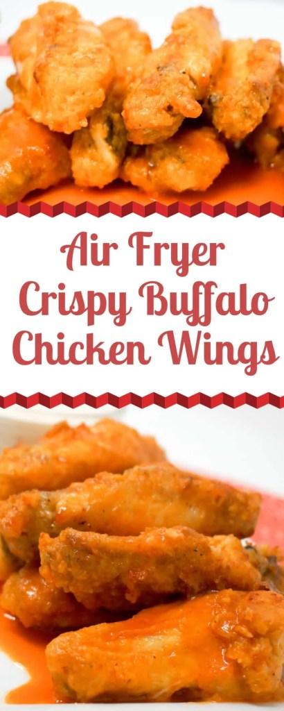 Air Fryer Buffalo Chicken Wings Grace Like Rain Blog