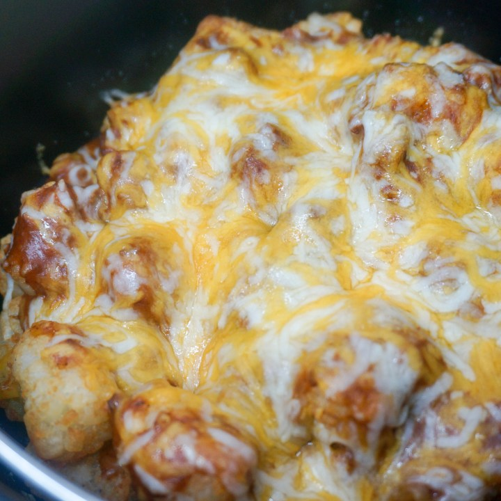 Air Fryer Chili Cheese Tots