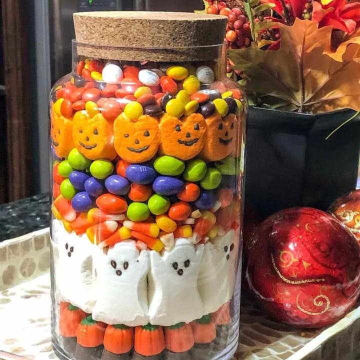 Halloween Candy Jar Grace Like Rain Blog
