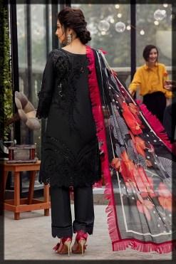 Mushq embroidered lawn 2021 mushq eid lawn suit 2021