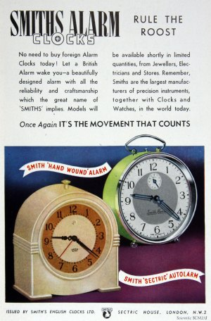 Smiths English Clocks  Graces Guide