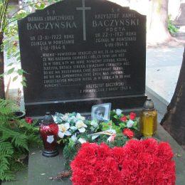 Powazki wojskowe.jpg grob Baczynskiego (1)