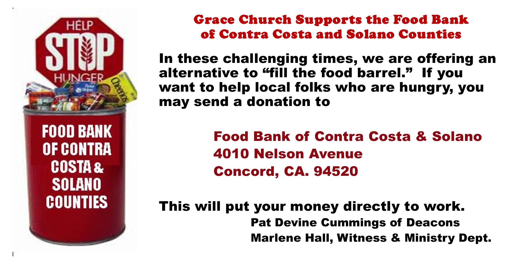 2020 4 Food Bank during Corona Virus