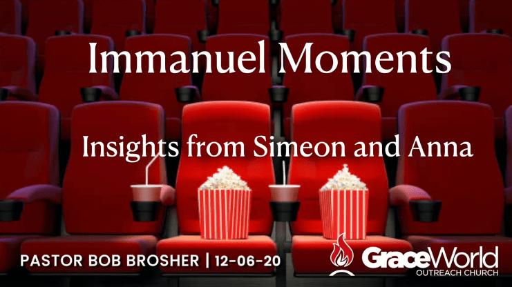 Immanuel moments