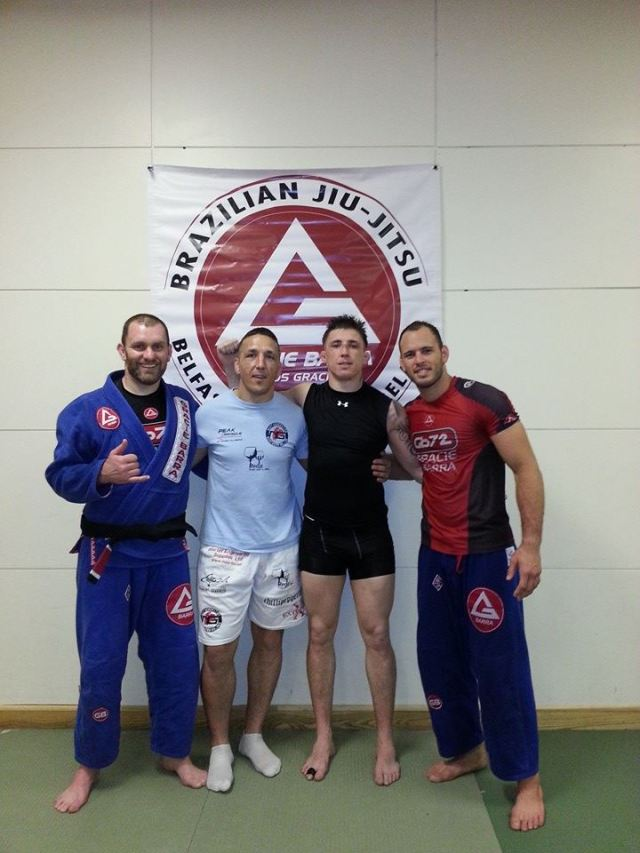 Victor Estima and Norman Parke Gracie Barra Belfast June 2014