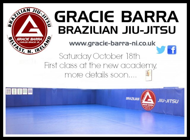 New CAademy Gracie Barra Belfast Prince Regents Road