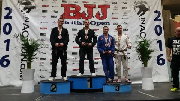 Ciaran Toal Bronze at the 2016 British Open Gracie Barra Belfast