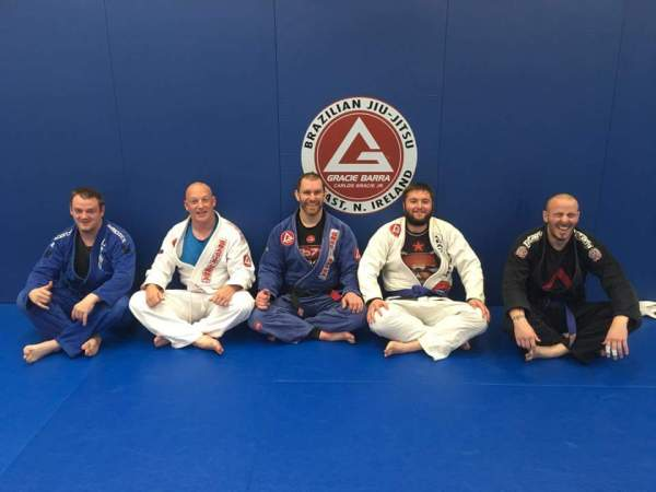New blue pupel brown belts gracie barra belfast