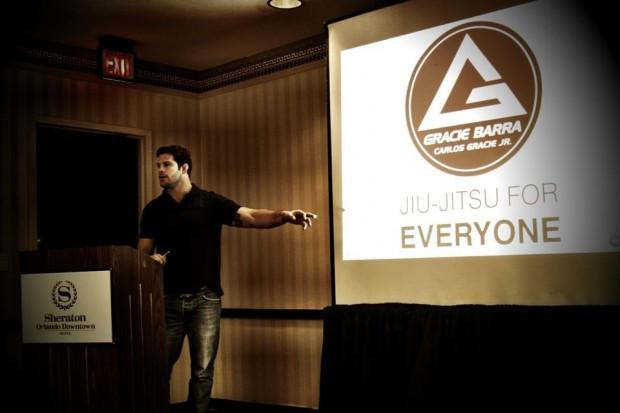 Flavio Almeida speaking at last GB Conference held in California.