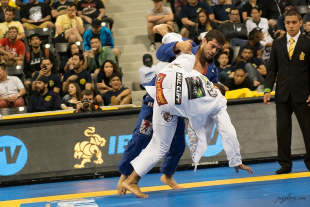 "Otavio Sousa – Gracie Barra Huntington Beach reminded his opponents why they call him the ""Steamroller."""