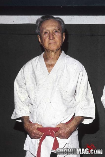 Foto de grande mestre Carlos Gracie por seu neto, Marco Gracie Imperial.