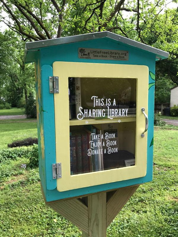 Gracie's Free Little Library © Gracie H Vandiver