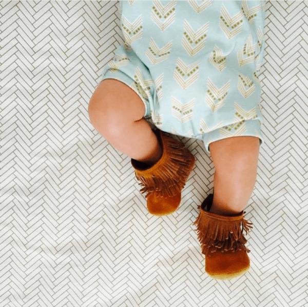 Gracious May Baby Moccasins