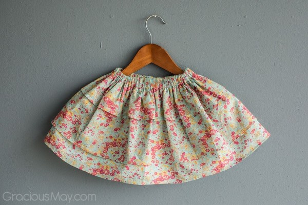 Aqua Tatum Perfect Twirls Skirt by Gracious May