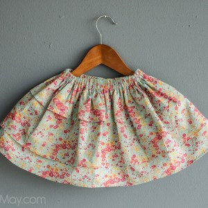 Aqua Tatum Perfect Twirls Skirt by Gracious May