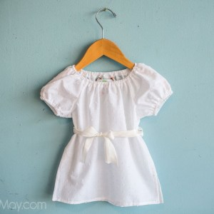 Gracious May Cotton Blossom Peasant Top