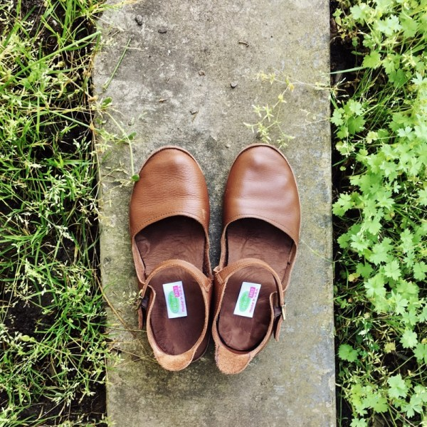 Gracious May American Made in USA Womens Comfortable Leather Flats